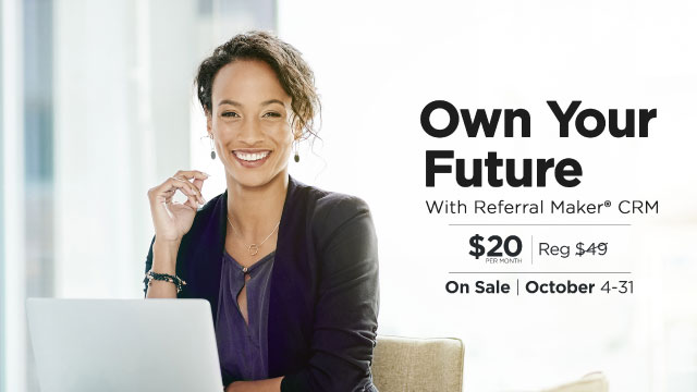 May 2021 Referral Maker CRM Sale