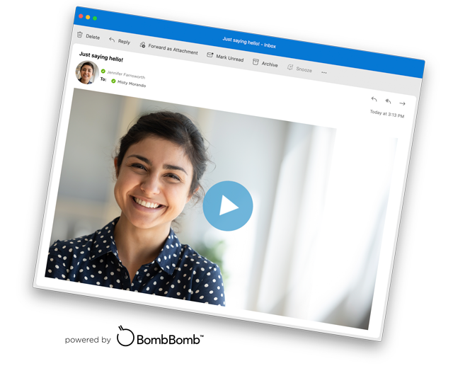 Video Messaging, powered by BombBomb